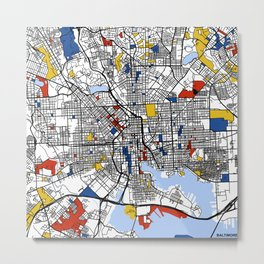 Baltimore  Metal Print