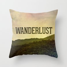 Wanderlust I Throw Pillow