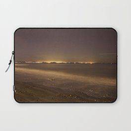 Portobello Beach at night Laptop Sleeve
