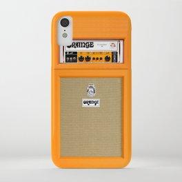 Bright Orange color amplifier amp iPhone Case