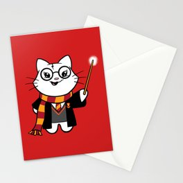 Wizardkitty Griffin House! Stationery Cards