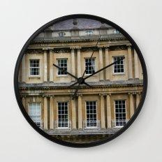 The Crescent, Bath Wall Clock