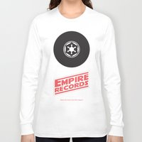 records Long Sleeve T-shirts featuring Empire Records by mattranzetta