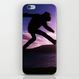 Suspended iPhone Skin