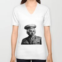 general V-neck T-shirts featuring General Knowledge by GingerRogers