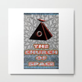 The Church of Space - Moogfest 2017 Design Metal Print