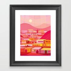 San Miguel Afternoon Framed Art Print