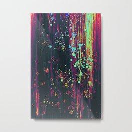acryl colors artwork Metal Print