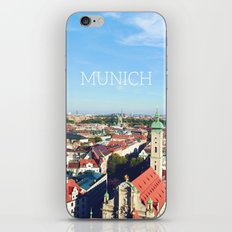 Munich skyline iPhone & iPod Skin