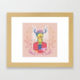 Little Lamb Framed Art Print