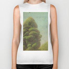 Fluffy Tree Biker Tank