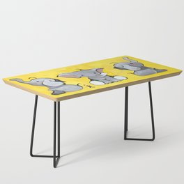 3 Sides of a Trumpet Coffee Table
