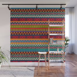 African pattern No4 Wall Mural