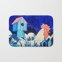 Chicken Rider Bath Mat