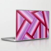 gradient Laptop & iPad Skins featuring Gradient by Louise Machado
