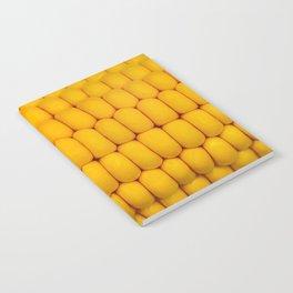 Yellow corn pattern Notebook