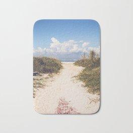 The Beach Path Bath Mat