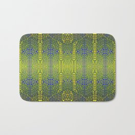 Psychedelic geometry pattern (Acid session vol.1) Bath Mat