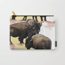 Roaming the Plains Carry-All Pouch