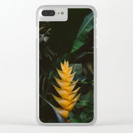 Tropical Hawaii VIII Clear iPhone Case