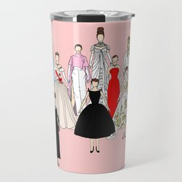 Audrey Hepburn Think Pink Outfits Fashion Travel Mug
