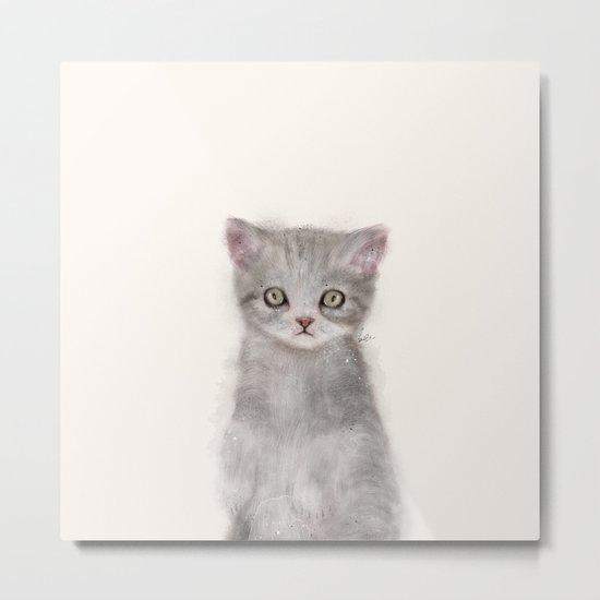 little kitten Metal Print