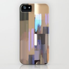 light lines 2 iPhone Case