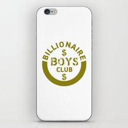 billionaire boys club #society6 #decor #buyart #artprint iPhone Skin