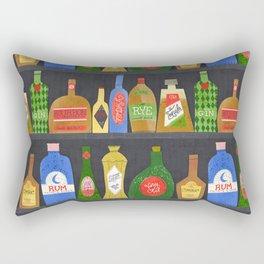 Bar Cart Art Rectangular Pillow