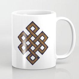 Eternal knot - blue Coffee Mug
