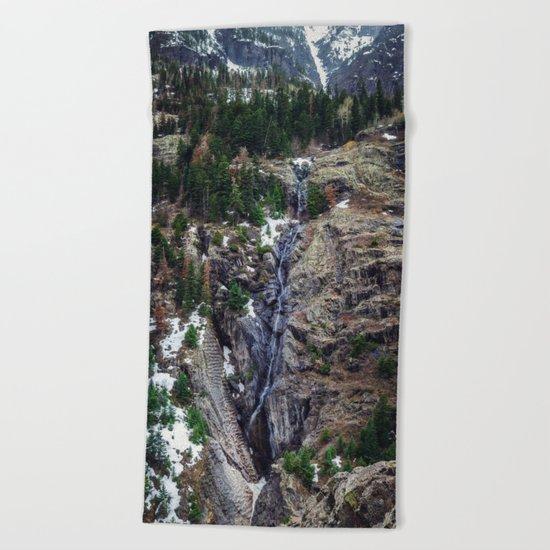 Mountain Pano Beach Towel
