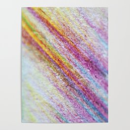 Crystal Pencil Art Poster