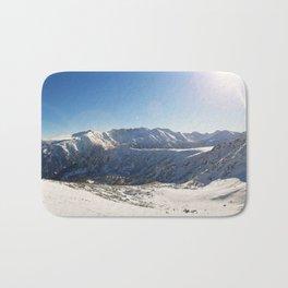 Pirin mountains panorama Bath Mat