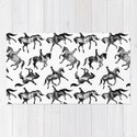 Dressage Horse Silhouettes by illucalliart