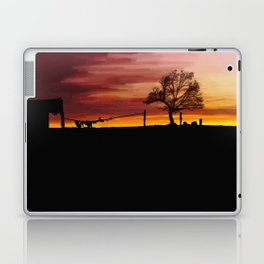 William Munny and his Wife Laptop & iPad Skin