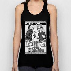 Hatfield McCoy Boxing Poster Vintage Look RonkyTonk Unisex Tank Top