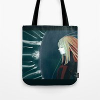 shield Tote Bags featuring Shield by Cruz'n Creations