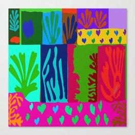 Matisse Collage Canvas Print