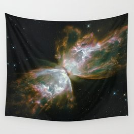The Butterfly Nebula Wall Tapestry