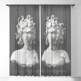 Silver Medusa Sheer Curtain