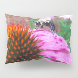 Bee on Flower Pillow Sham