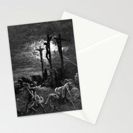 Crucifixiondarkness - Dore Stationery Cards