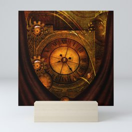 Awesome noble steampunk design Mini Art Print