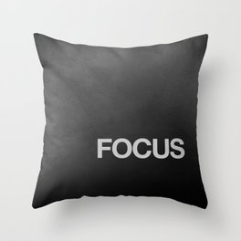 FOCUS TEXTURE Throw Pillow
