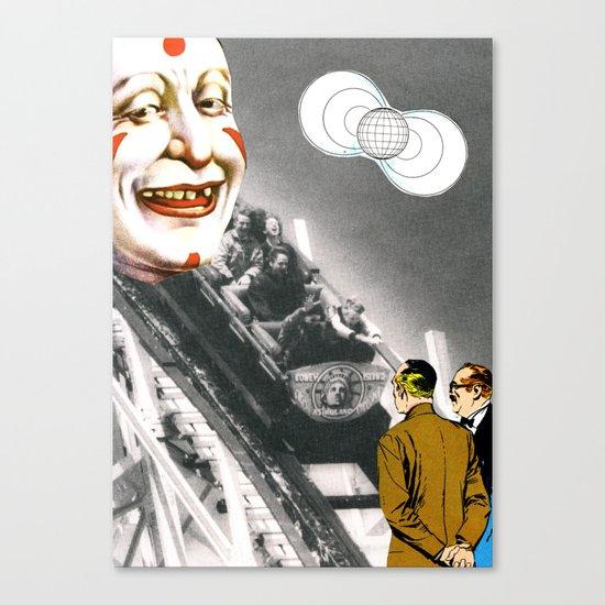 World Of Clowns Canvas Print
