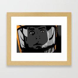 2001: A Space Odyssey - David Bowman Framed Art Print