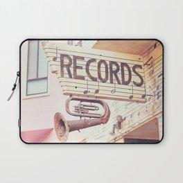 Records Laptop Sleeve