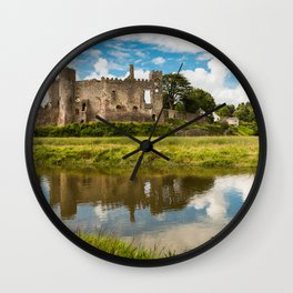 Laugharne Castle Wall Clock