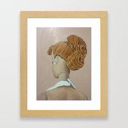 Barbie Print Framed Art Print