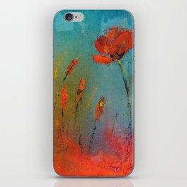 Flowers in the window iPhone Skin